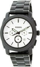 Fossil Men's FS5092 Black Stainless-Steel Quartz Watch