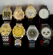 Joblot ×10 )QUARTS ORLANDO MENS BEZEL STRAP WATCHES BRAND NEW Great To Re-sell!!