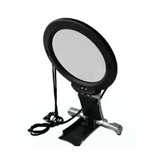 2.25X 5X Hands Free Magnifier Hanging Desktop Magnifying Glass w/ Neck Strap