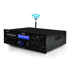 PYLE 200W BLUETOOTH WIRELESS HOME STEREO RECEIVER USB SD MP3 PLAYER FM RADIO AUX