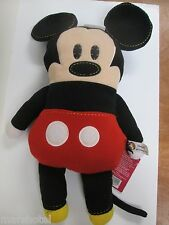 "DISNEY POOK A LOOZ RARE LARGE 20"" MICKEY MOUSE PLUSH SOFT FLAT FLEECE TOY"