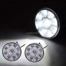 2x 27W Round LED Work Light Flood Truck ATV Boat Fog Offroad Driving  12V 24V