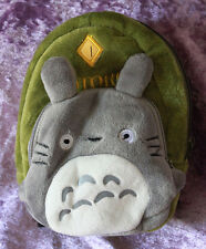1/3 scale BJD Dollfie Plush School Backpack Bag Doll My Neighbor Totoro Green