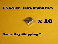 10pcs Micro USB Charging Port Samsung Galaxy Tab 3 7.0 SM-T210R Tablet Connector