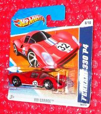 2010 Hot Wheels  Garage  Ferrari 330 P4 #84 R7501-05A0  short card  red