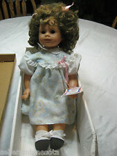 "BEAUTIFUL GOTZ PUPPE DOLL 16"" WITH TAG/BOX"