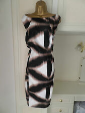 GORGEOUS LINED DRESS BY SAVOIR IN VG CON SIZE 28 BUST 54""