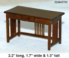 OFFICE DESK 1:24 SCALE DOLLHOUSE MINIATURES Heirloom Collection