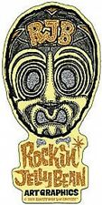 RJB Mask Gold Sticker Decal Rockin Jelly Bean R40
