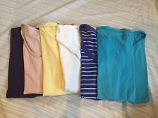 Women's Gap Old Navy H&M Victoria's Secret Lot of 6 (Six) Tops Size Small