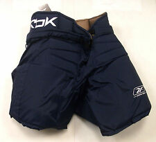 Reebok Premier NHL Washington Pro Return hockey goalie pants senior medium navy