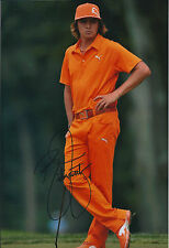Rickie FOWLER SIGNED Autograph 12x8 Photo AFTAL COA 2012 Wells Fargo CHAMPION