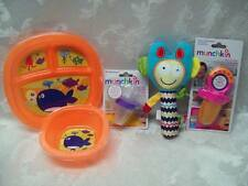 Munchkin Alex Toys Medicator Squeezy Squeakies Food Feeders Plate Bowl Dispenser