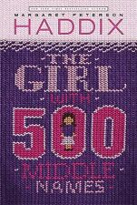 The Girl With 500 Middle Names, Haddix, Margaret Peterson, Good Book