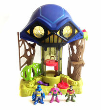 Fisher Price Imaginext DC Batman HALL OF DOOM playset with LEX & EXTRA FIGURES