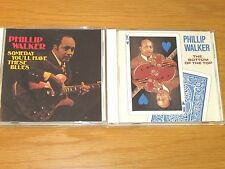 LOT OF 3 USED/PERFECT BLUES CDs - PHILLIP WALKER -