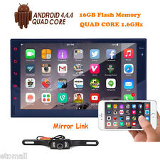 "7"" Touch Screen 2 Din Android Quad Core Car Stereo GPS Radio 3G WIFI + Camera"