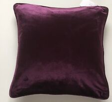 LUXURY SOFT PURPLE MILANO CRUSHED VELVET LARGE DELUXE CUSHION COVER 56 X 56 CMS
