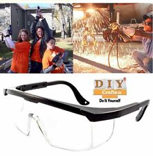 DIY Crafts®Clear Eye Protection Goggles Safety Eyewear Protective Gear Glassesk