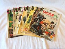 Gold Key Comics 1970-1971, Lot of 10 #s 192-204 Tarzan of the Apes