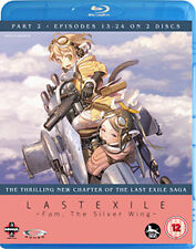 LAST EXILE  TO  FAM THE SILVER WING PART 2 (EPISODES 12 - BLU-RAY - REGION B UK