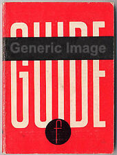 Agfa Silette Range Guide Book inc Super L Ambi, 1962. More Camera Manuals Listed
