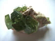 DEMANTOID Kristallstufe aus Madagaskar