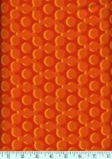 Bloom Modern Orange Bubbles Quilt Fabric - Free Shipping - 1 Yard