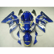 Injection Plastic Fairing Fit For YAMAHA YZF R6 YZF-R6 98-02 99 00 01 Blue White