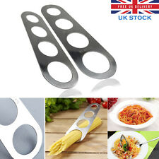 Stainless Steel Spaghetti Measurer Pasta Measure Cook Tool Kitchen Gadget Sliver