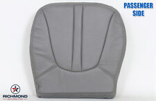 97-99 Ford Expedition Eddie Bauer -Passenger Side Bottom Leather Seat Cover GRAY