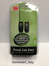 SYSTEM LINK CABLE CAVO LAN PER CONNETTERE 2 XBOX - NUOVO SIGILLATO NEW SEALED