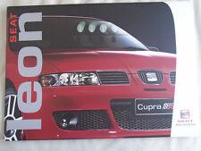 Seat Leon range brochure Nov 2003