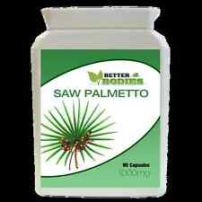 High Strength Saw Palmetto 1000mg 90 Capsules Bottle