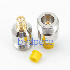 RP-SMA female male pin to N type female jack straight connector RF adapter