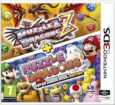 Puzzle and dragons z + puzzle and dragons super mario bros pour uk 3DS (nouveau)