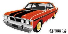 FORD FALCON XY GT HO 351 Phase 3 - Red with Simmons