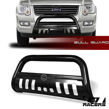 FOR 06-10 FORD EXPLORER/SPORT TRAC BLK BULL BAR BRUSH BUMPER GRILL GRILLE GUARD