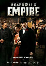 Boardwalk Empire The Complete Second 2nd Two 2 Season DVD 5-Disc Box Set! USA!!!