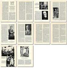 1958 Mahatma Gandhi And The Viceroys Old Article