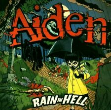 AIDEN ~ RAIN IN HELL NEW AND SEALED 2 DISC SET ( 1 CD + 1 DVD )