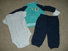 Baby Boy Clothes Awesome Daddy 3pc Outfit Set Size 24 Months 24M NWT NEW