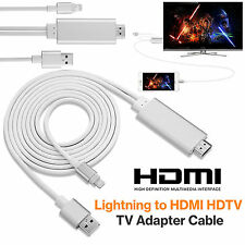 H-Speed 8 Pin Lightning to HDMI TV USB Cable Adapter For iPad 4 iPhone 6 6s 5s