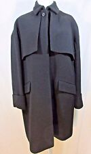 J CREW Collection Double-Cloth Trench Coat Size 4 Black #b1650 $450 SOLD OUT!