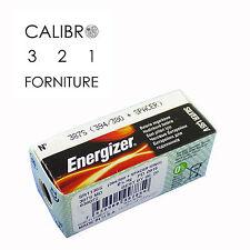 10 batterie ENERGIZER 387S SR1136SW 394/380 + SPACER x orologi 1,55V 0%mercury