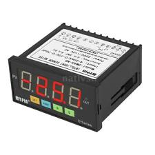 Intelligent Digital Sensor Meter LED Relay 0-75mV/4-20mA/0-10V Input J4B1