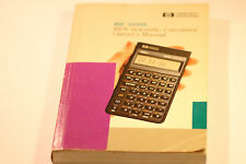 HEWLETT PACKARD HP 32sii RPN SCIENTIFIC CALCULATOR OWNER'S MANUAL 1990