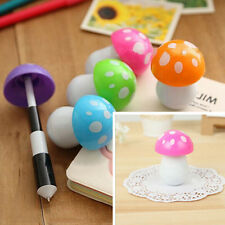 Mushroom Ball Point Pen Telescopic Shape Pen Mushroom Cartoon Pen Cute