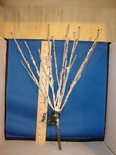 Lighted Branches Willow White Flocked LED Clear with Adapter 94535 240