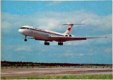 Cartolina Aviazione - Aereo In Decollo IL-62 Soviet Airlines - Non Viaggiata